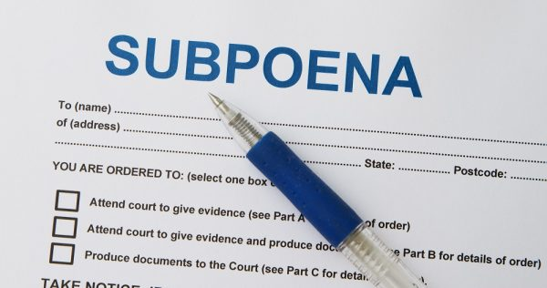 can text messages be subpoenaed for divorce