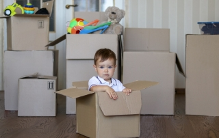 relocating with child after divorce